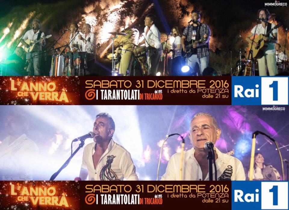 capodanno 2017 - l'anno che verrà, Folk music, Taranta