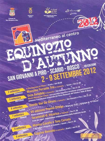 equinozio d'autunno 2012, Folk music, Taranta