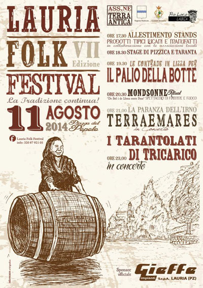 lauria folk festival, World Music, Taranta