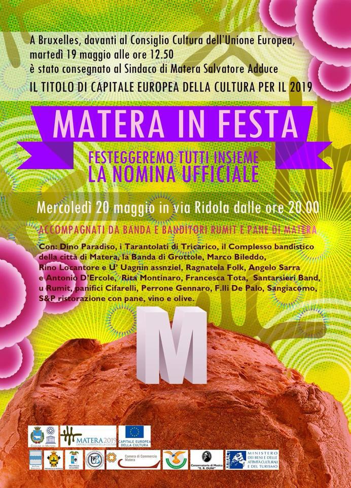 matera in festa, Folk music, Taranta