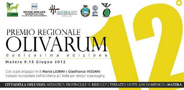 12° premio regionale olivarum con la partecipazione di gianfra...