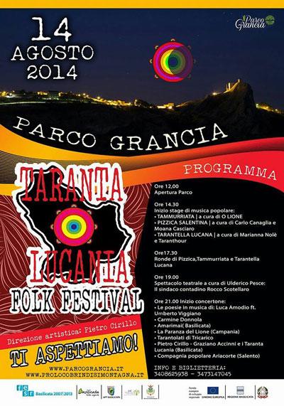 tarantalucania folk festival, World Music, Taranta