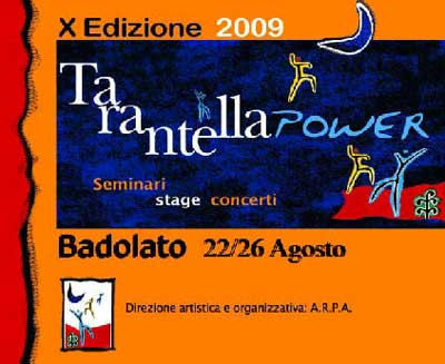 tarantella power, World Music, Taranta