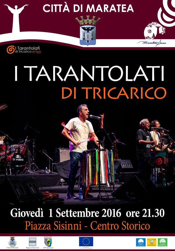 concerto a maratea, World Music, Taranta