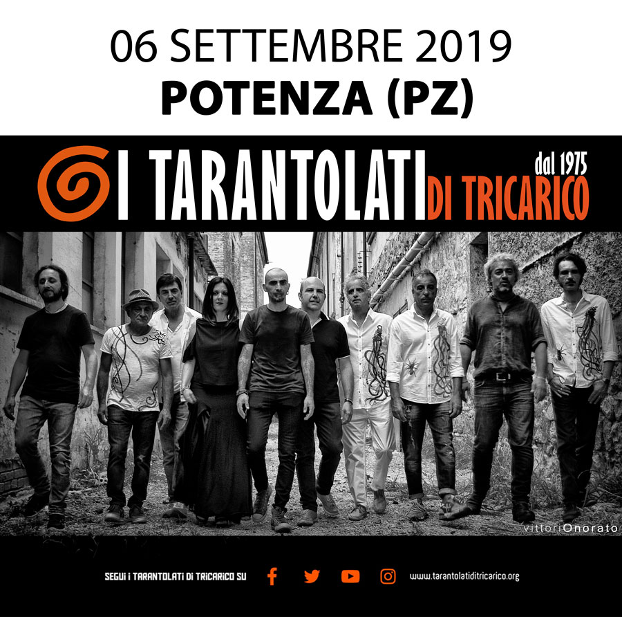 concerto dei tarantolati, Folk music, Taranta