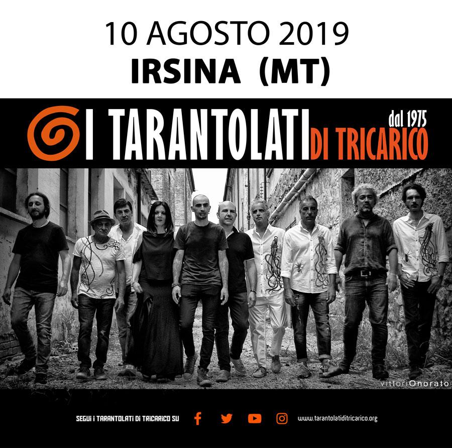 irsina capitale europea della cultura, Folk music, Taranta