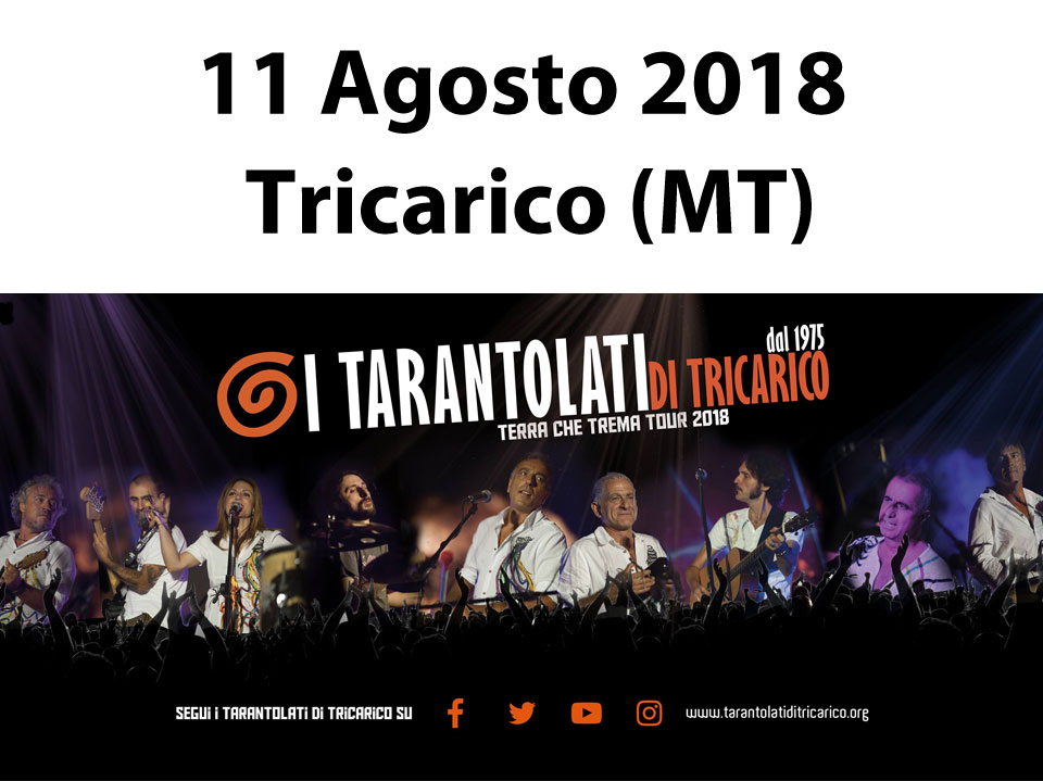 estate a tricarico, Folk music, Taranta