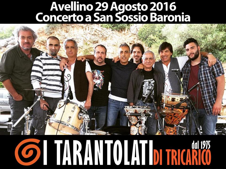concerto ad avellino, World Music, Taranta