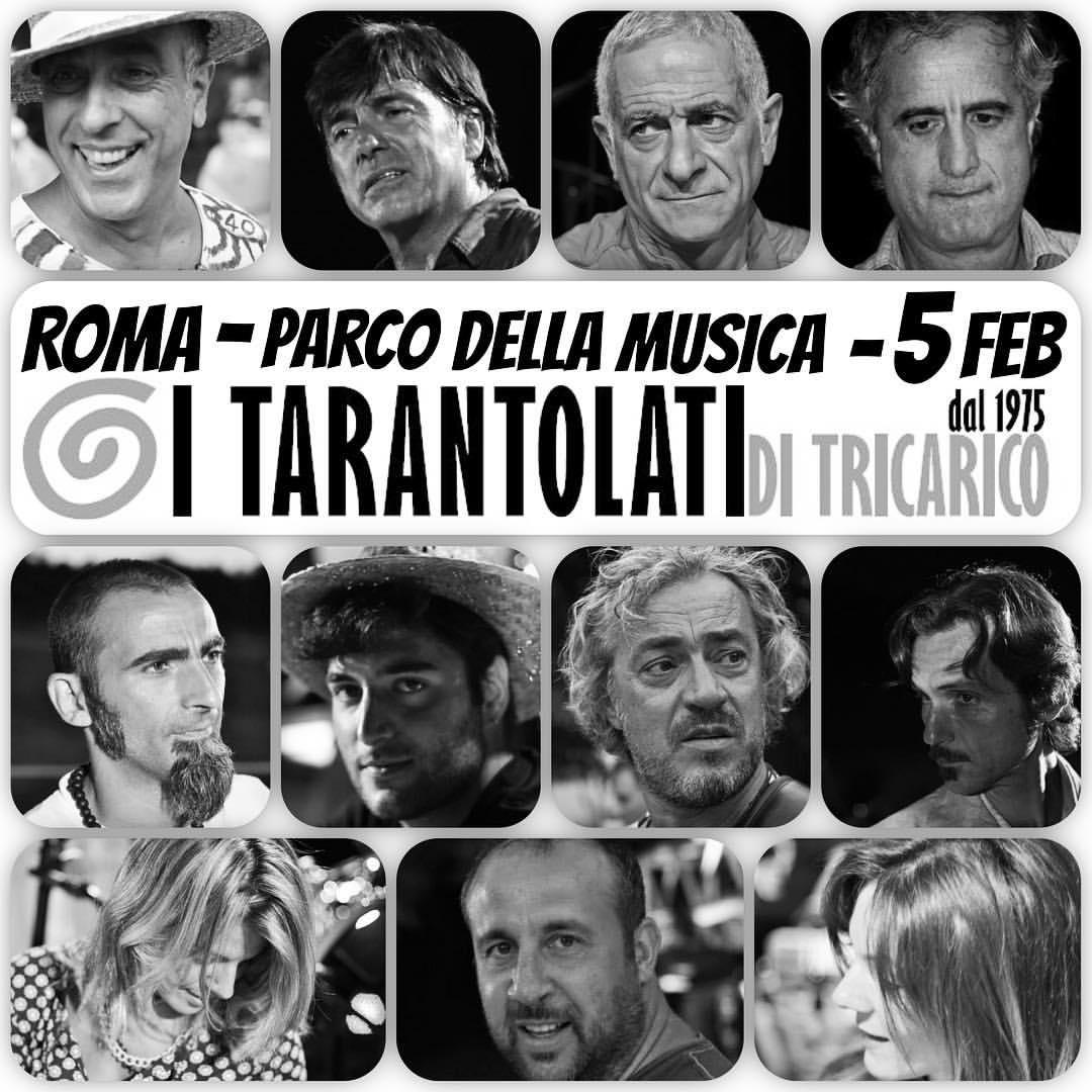 concerto al tempio della musica italiana, Taranta