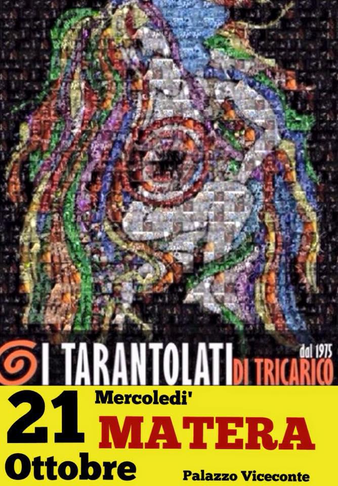 i tarantolati in concerto, Folk music, Taranta
