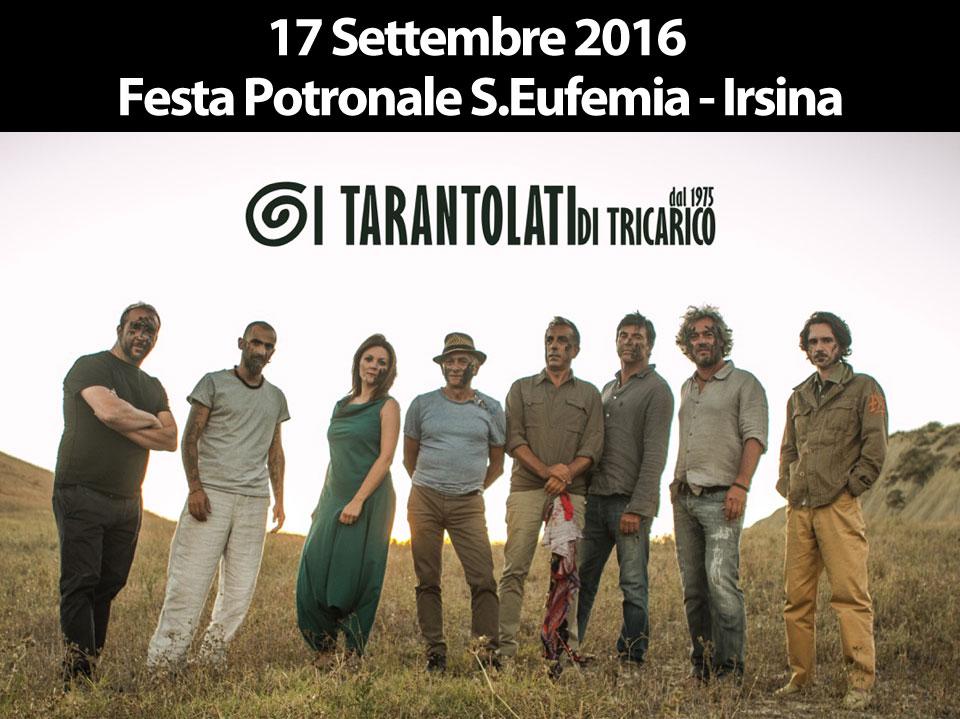 festa patronale seufemia, World Music, Taranta