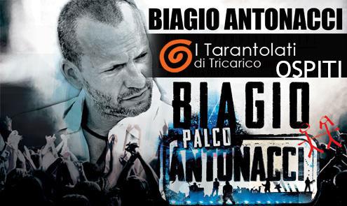 Con BIAGIO ANTONACCI all'ARENA DELLA VITTORIA (Bari)