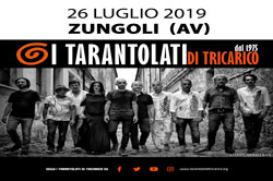 I Tarantolati di Tricarico in  at ZUNGOLI Friday, July 26, 2019