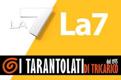 Diretta televisiva presso Centro di Produzione TV - LA7